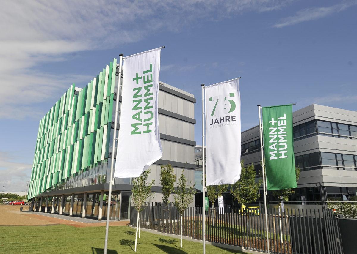 Mann und Hummel 75 Jahre Technologiezentrum Einweihung